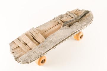 Vintage Style Concued Skateboard