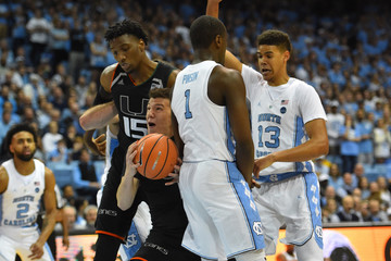 NCAA Basketball: Miami at North Carolina