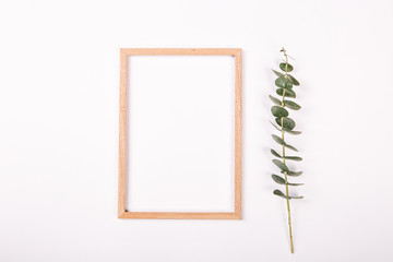 Notebook isolated white background Spring concept