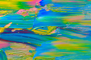 Oil paints background art abstract .Colorful texture. Brushstrokes paint