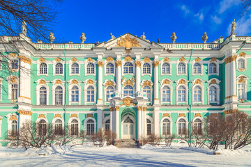 Square in front of the Hermitage in St. Petersburg