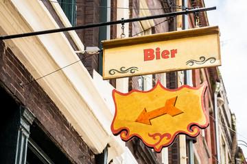 Schild 258 - Bier