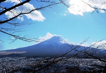 Kawaguchigo, Mt.Fuji Japan