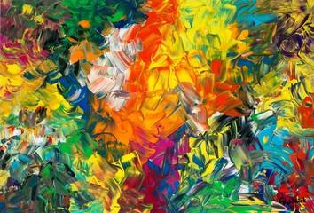 Frühsommer, Gemälde von Carola Vahldiek, Gouache / Acryl auf Karton