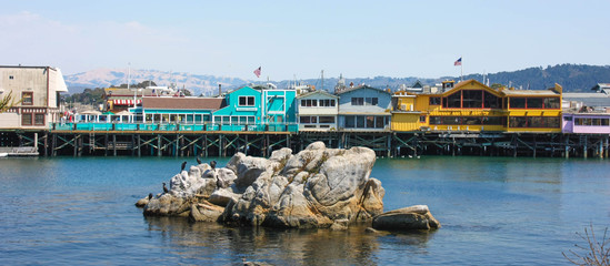USA - Monterey Fisherman's Wharf (California)