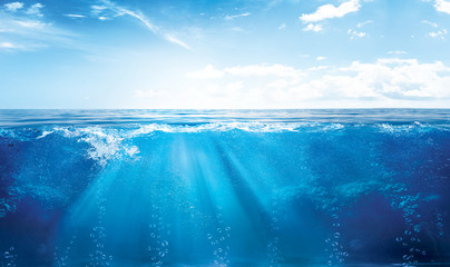 UNDER WATER Fototapete