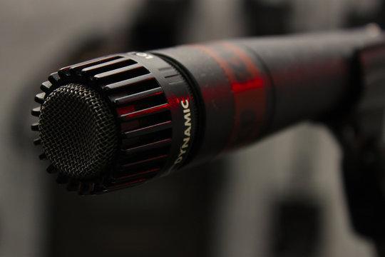Mikrofon Mic Dynamisch abstrakt Musik Gesang