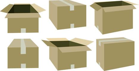 Cardboard set 2