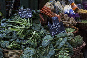 Vegetables. Borough Market.