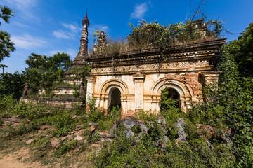 A Myint ruins old city village in Chaung-U township near Monywa