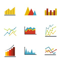 Scheme icons set. flat set of 9 scheme vector icons for web isolated on white background