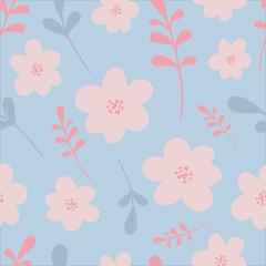 Elegant vector illustration. Seamless floral pattern. For print, card