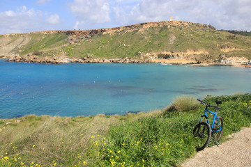 Gnejna Bay, Malta, Radwandern, Mountaibike