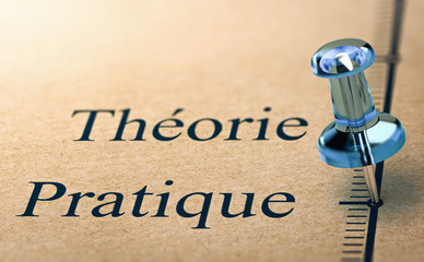 Enseignement de la théorie ou de la pratique. Formation professionnelle