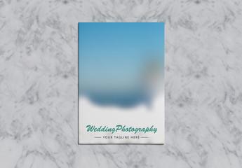 Wedding Photography Brochure Layout 1