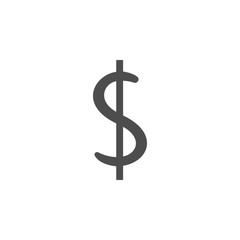 dollar icon.Element of popular banking icon. Premium quality graphic design. Signs, symbols collection icon for websites, web design,