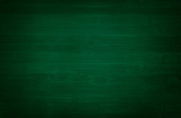 Green wooden wall background.