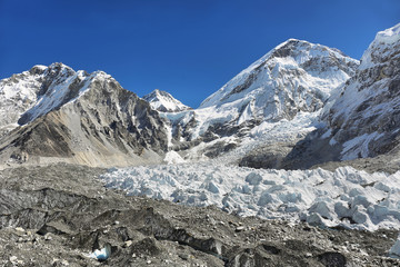 Changtse from Everest Base Camp, 5545m