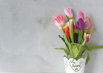 spring flowers tulips