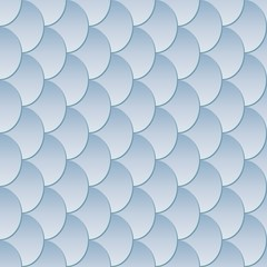 fish scales background, seamless pattern