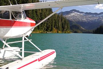 Floatplane in Squamish