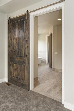 Modern Rustic Sliding Barn Door
