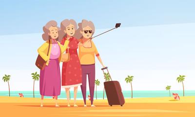 Anti Aging Vector Illustration