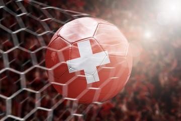 Scoring a Goal, Swiss soccer ball
