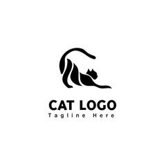 body part funny play cat logo