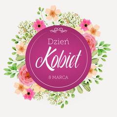 Dzień Kobiet - 8 Marca
