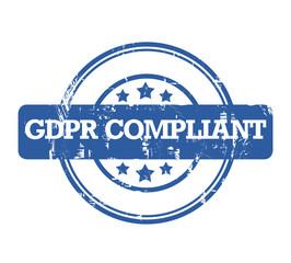 General Data Protection Regulation stamp
