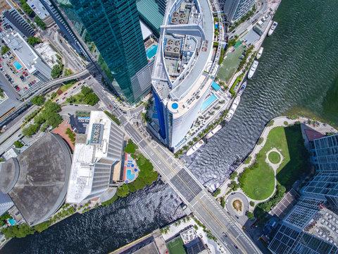 Bridge Building City Miami