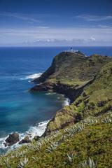 Portugal, Azores, Santa Maria Island, Ponta do Castelo, Ponta do Castelo Lighthouse