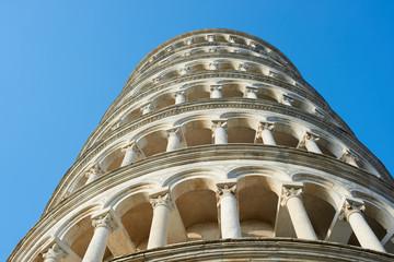 Leaning Tower of Pisa, Detail, Pisa, Italy
