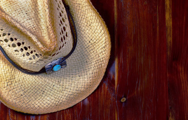 Old Cowboy Hat with room for your type.