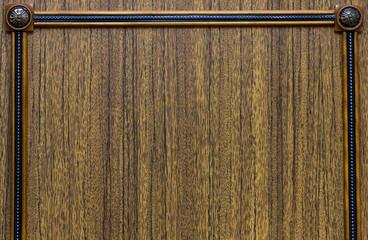Decorative wooden texture