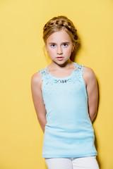 summer cute girl