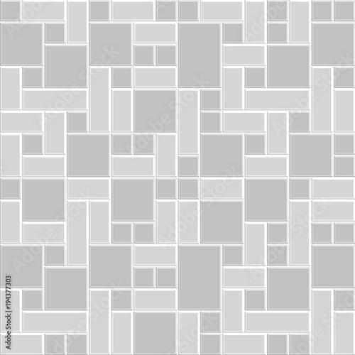 Modern Tile Texture Floor Pattern Style Design Interior 3d Vector