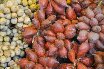 snake fruit background