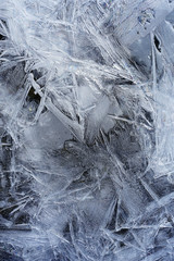 winter ice texture background