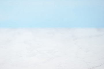 Abstract white and blue blank background