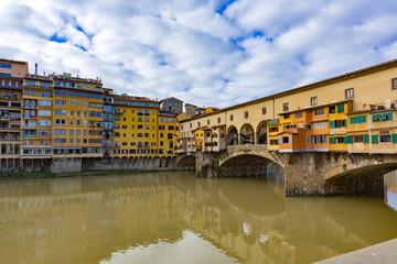 フィレンツエのヴェッキオ橋