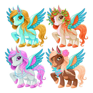 Baby pegasus for freedom and magic