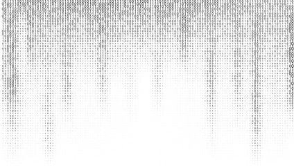 Gradient Binary Code Digits Background