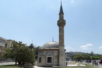 Konak mosque in konak square in Izmir, Turkey