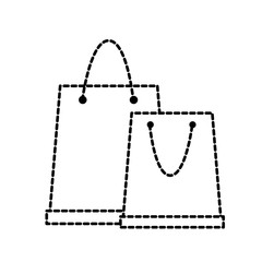 dotted shape shopping bags object to custom buy