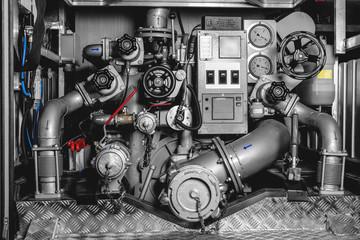 Fireman is a water pump