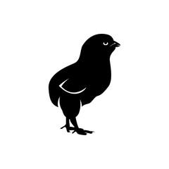 chicken vector silhouette