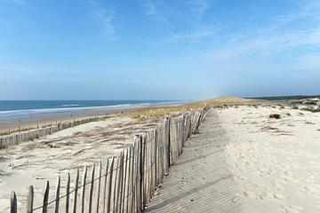 Papiers peints Plage Dunes et littoral de Lacanau