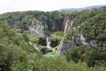 Plitvice Lakes National Park Scenery